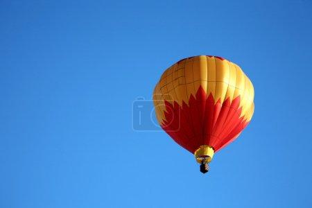 Hot Air Balloon Ride Closeup