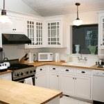 White Country Kitchen...
