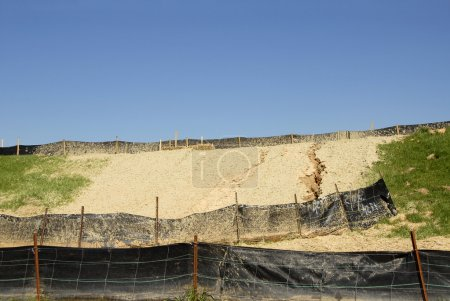Erosion Control on a Construction Site...