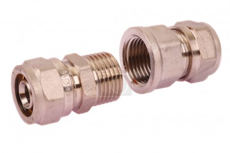 Connector water pipes