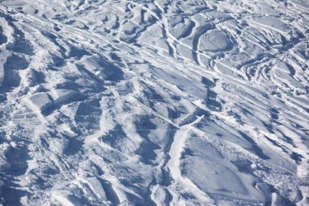 Ski slope background