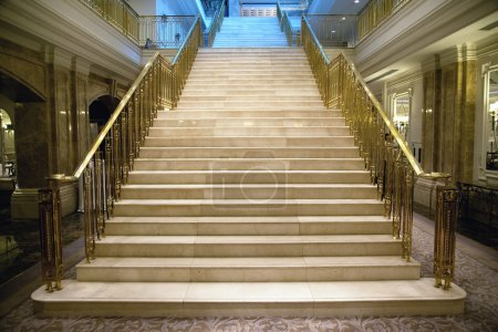 Photo for Luxury staircase in palace - Royalty Free Image