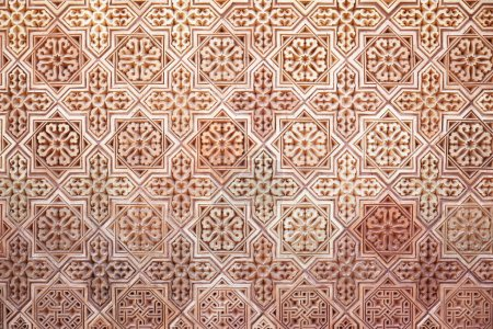 Background of Arabic pattern