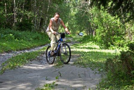 Mountain bike tourism