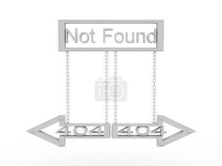 Sign 404 not found. Error