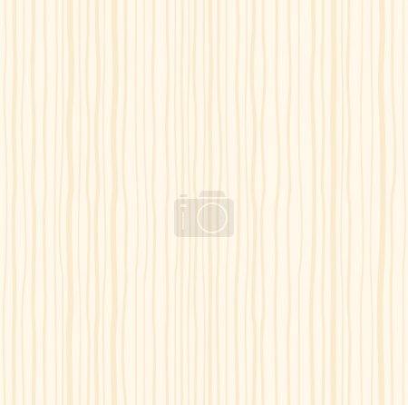 Illustration for Light wood background pattern illustration. Perfect material for architecture design purposes. Lumber construction material - ecological. - Royalty Free Image