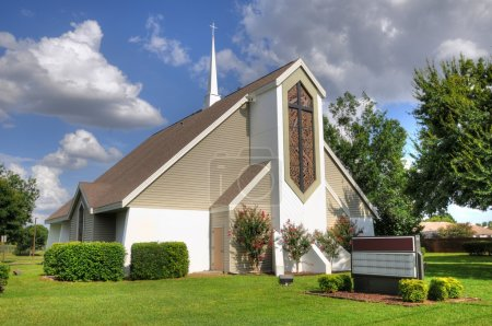 Beautiful christian church