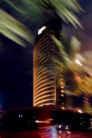 Photo pour Nuits abstraites floues de Las Vegas - image libre de droit