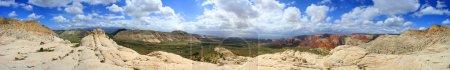 Panoramic View of Snow Canyon - Utah