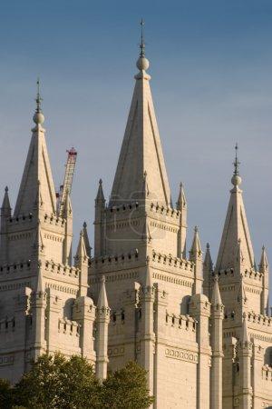 Photo for Mormon Temple in Salt Lake City, Utah - Royalty Free Image