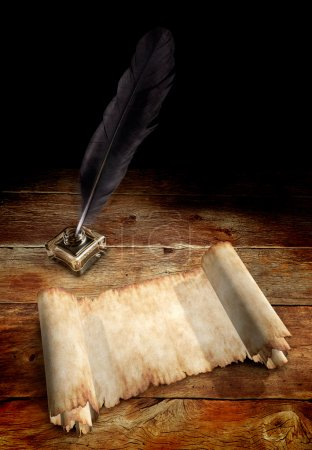 Old Parchment and a Quill