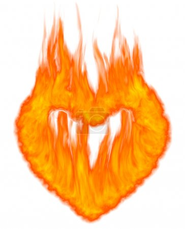 Burning Heart Symbol