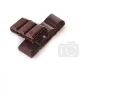 Photo for Chocolate bar on white background - Royalty Free Image