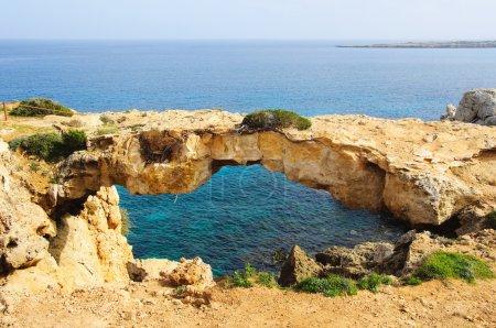 Photo pour Grottes marines près du Cap greko. mer Méditerranée. - image libre de droit