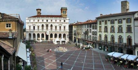 Square in Bergamo