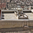 Model of Jerusalem dating from the time of the Sec...