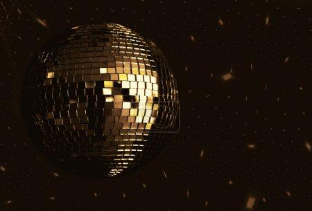 Photo pour Fond de balle disco - image libre de droit