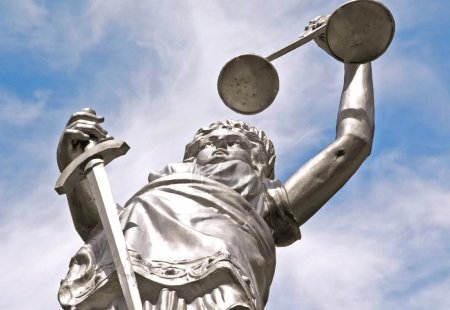 Photo pour Justice abstraite - image libre de droit