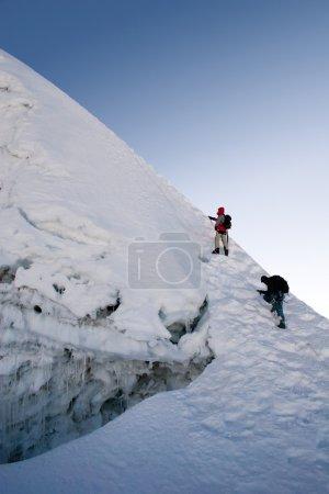 Island Peak Summit Ridge - Nepal